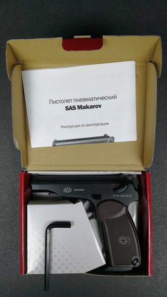Параметры пистолета SAS PM BLOWBACK https://namushke.com.ua/products/sas-pm-makarov-blowback