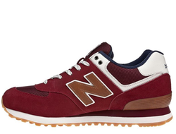 Унисекс New Balance 574 Burgundy/Brown