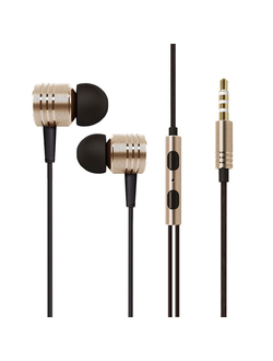 Наушники Hi-Fi Xiaomi 1MORE Piston Classic Silk Gold