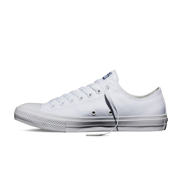 Купить кеды CONVERSE ALL STAR CHUCK TAYLOR II белые по низкой стоимости в  Перми в магазине брендовой обуви