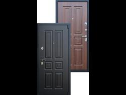 Стальная дверь асд Йошкар-Ола «Атлант» Орех бренди
