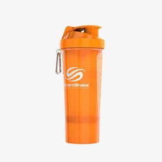 Шейкер SmartShake Slim 500ml/17oz Neon Orange