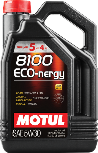 Motul 8100 ECO-NERGY 5W30 5Л (5л по цене 4х)