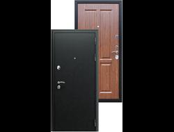 Стальная дверь асд «Прометей 3D»  Орех темный