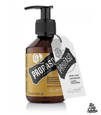 Шампунь для бороды Proraso Wood and Spice, 200 мл