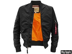 Куртка Alpha Industries MA-1TT  Black