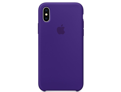Чехол-накладка Apple Silicone Case iPhone Ultra Violet