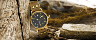 Часы мужские LACO ORIGINAL WESTERLAND BRONZE 45 MM HANDWINDING
