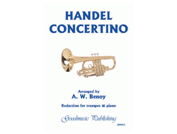 Händel, Georg Friedrich Concertino for trumpet and strings for trumpet and piano