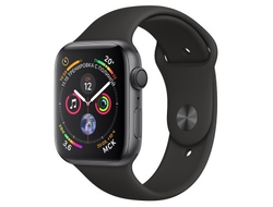 Apple Watch Series 4 40mm Aluminum Case with Sport Band MU662 (серый космос/черный)