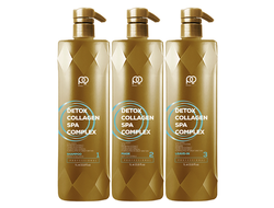 Набор Paul Oscar Collagen Detox SPA Complex, 1000/1000/1000 мл.