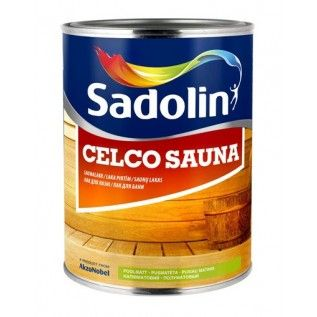 Лак для сауны Садолин Селко Сауна Sadolin Celco Sauna