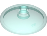 Dish 3 x 3 Inverted (Radar), Trans-Light Blue (43898 / 4256494 / 6060829 / 6244733)