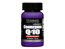 Q10 Ultimate Nutrition 100mg 30 caps