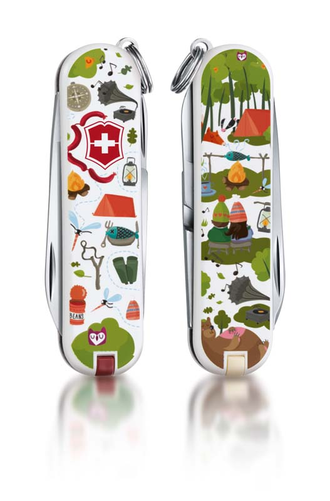 "Нож-брелок VICTORINOX Classic ""Nature Adventure"", 58 мм, 7 функций"