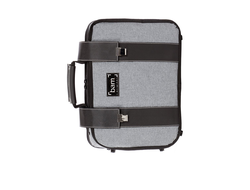 GREY FLANNEL HIGHTECH BB CLARINET & MUSIC STAND CASE