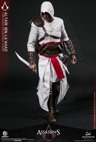 Ассасин Альтаир ибн Ла-Ахад - КОЛЛЕКЦИОННАЯ ФИГУРКА 1/6 Assassin's Creed Ⅰ 1/6th scale Altair Collectible Figure Specifications (DMS005) - Damtoys
