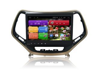 "Автомагнитола MegaZvuk AD-1057 Jeep Cherokee V (KL) 2014+ на Android 8.1 Octa-Core (8 ядра) 10,1"" Full Touch"