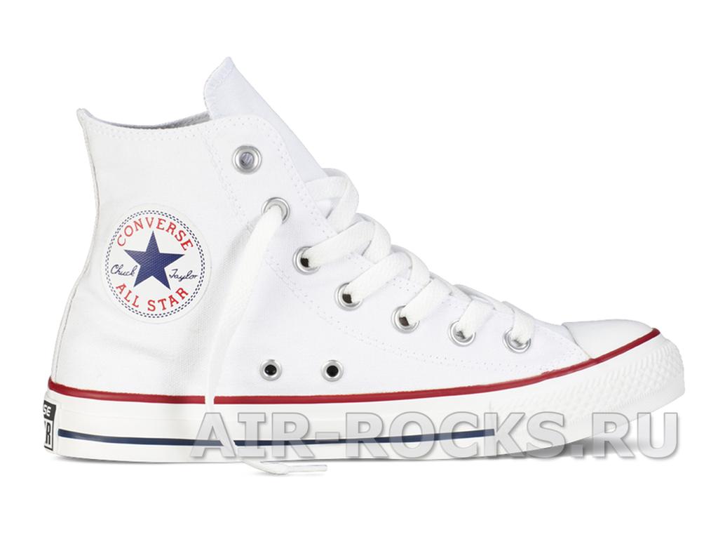 Купить кеды Converse All Star HI TOP White дешево  16d10a64270e4