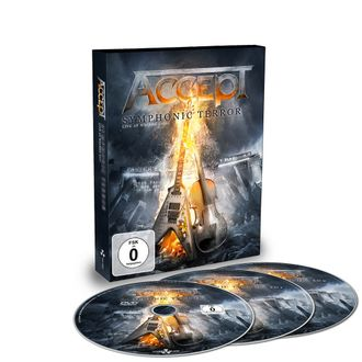 ACCEPT Symphonic terror - Live at Wacken 2017 DVD + 2-CD