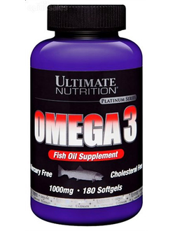 Ultimate Nutrition Omega 3 1000 мг 90 капсул