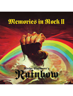 RITCHIE BLACKMORE'S RAINBOW Memories in Rock II 2-CD+DVD