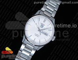 Carrera Calibre 5 41mm White dial