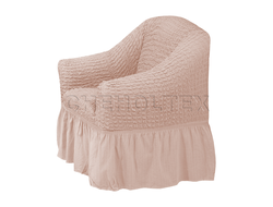 Чехол Стандарт на кресло, цвет Капучино