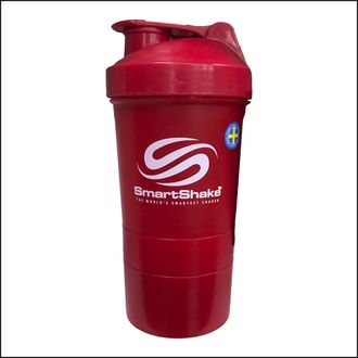 Шейкер Smart Shake Original2go 600ml Red