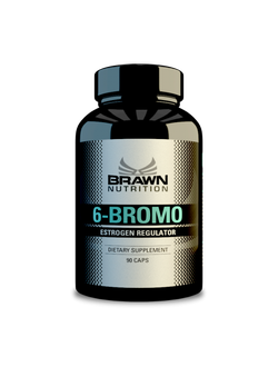 Brawn 6-Bromo (6-Bromo Androstane-3,17 Dione - 50mg)