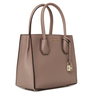 Сумка MICHAEL KORS Mercer Large Tote (Бежевая)