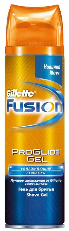 Гель для бритья Gillette Fusion ProGlide Hydrating Увлажняющий, 200 мл