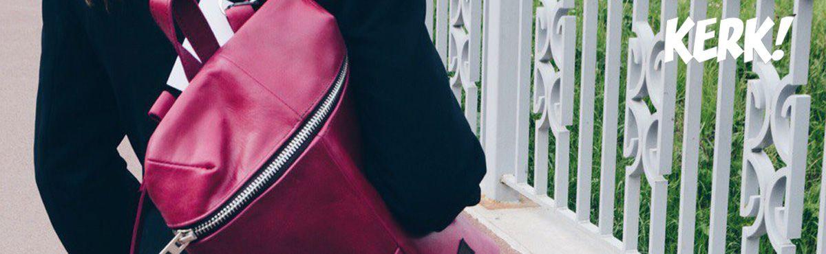 b5d812262ef8 Стильные кожаные рюкзаки Kerk купить в СПб недорого стало возможно!