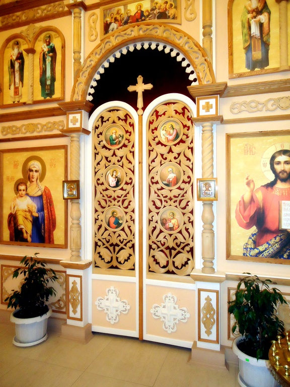 Изготовление царских врат для иконостасов, царские врата на заказ