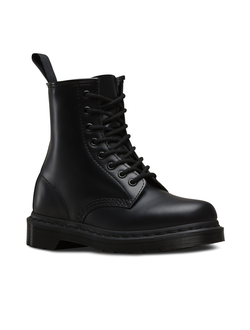 БОТИНКИ DR. MARTENS 1460 Mono Smooth ЧЕРНЫЕ