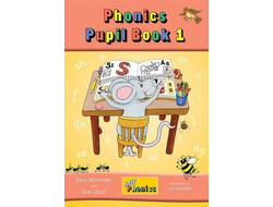 Jolly Phonics Pupil Book 1 (colour edition)  in Precursive Letters