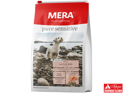 "Сухой корм Mera Pure Sensitive Mini ""Adult Lachs & Reis"" (Мера Пьюр Сенситив Мини ""Адалт Лакс & Райс"