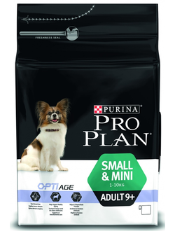PURINA PRO PLAN OptiAge Adult 9+ Small  & Mini Chicken &  Rice   / ПУРИНА ПРО ПЛАН сухой корм для собак мелких и карликовых пород  КУРИЦА / РИС 9+   700 г