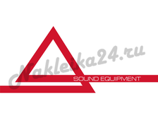Наклейка Aura sound equipment