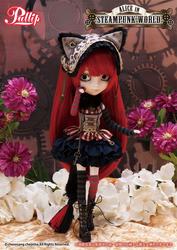 Пуллип Чеширский кот / Пуллип Чешир / Pullip Cheshire Cat Steampunk