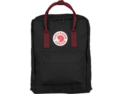 Рюкзак Fjallraven Kanken Black OX/RED (Classic)