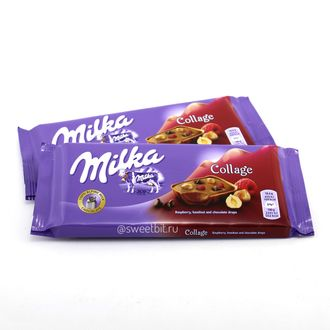 Плитка Milka Collage Fruit