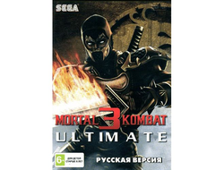 MORTAL KOMBAT 3 ULTIMATE для sega 16bit