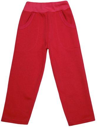 Штаны утеплённые (Артикул 498-352) цвет малиновый