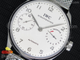Portuguese Real PR SS IW5001 YLF Best Edition White Dial SS Markers on SS Mesh Bracelet