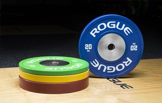 120 KG Color Training Plate 2.0 Set Диски для штанги Rogue Fitness