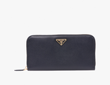 Prada Triangle Wallet Black