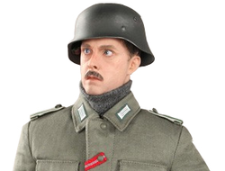 Коллекционная фигурка 1/6 WWII German Army Supply Duty Special Edition - Hans D80109S - DID