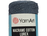 Macrame cotton Lurex 730