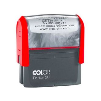 ОСНАСТКА ДЛЯ ШТАМПА COLOP PRINTER 50 NEW; 69Х30 ММ.